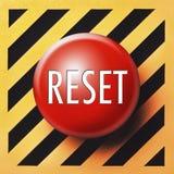 возврат кнопки Стоковое фото RF