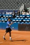 возвращение игрока шарика eleskovic Стоковая Фотография RF