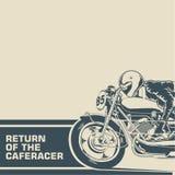 Возвращение плаката гонщика кафа Стоковое Фото
