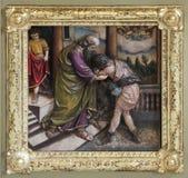 Возвращение prodigal сына стоковые изображения