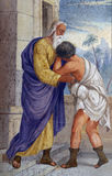 Возвращение Prodigal сына стоковое фото