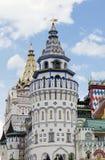 Возвышается западная сторона Izmailovo Кремль стоковое изображение