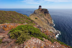 Возвышайтесь на острове Эльбе Capraia, Тоскане, Италии, Европе Стоковые Фотографии RF