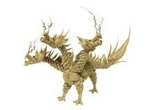 возглавленный дракон 3 Стоковая Фотография RF