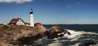 возглавьте маяк portland Стоковое фото RF