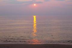 Возгонянный заход солнца Стоковые Фотографии RF