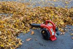 Воздуходувка листьев Стоковые Фотографии RF