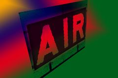 воздух Стоковое фото RF