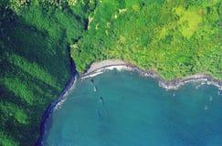 воздух maui стоковое изображение rf