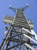 воздушная башня telecomunications Стоковое Изображение