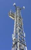 воздушная башня telecomunications Стоковое Изображение RF