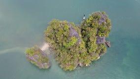 Воздушная достопримечательность, Ao Nang, Krabi сток-видео