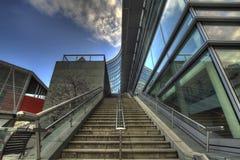 воздушная лестница portland, котор нужно tram стоковое изображение