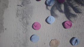 Воздушная партия пляжа видеоматериал