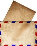 Воздушная почта иллюстрация штока