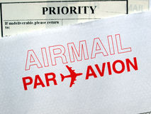 воздушная почта Стоковая Фотография RF