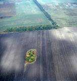 воздушное изображение Стоковые Фото