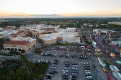 Воздушное изображение Broward County справедливое и магазины на Gulfstream Park Ha Стоковое фото RF
