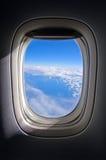 Воздушное небо стоковые изображения rf