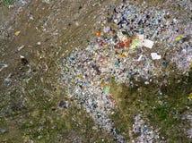 Воздушное фотографирование современный городской сброс стоковые фото