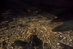 Воздушное фото города Рима в Италии Стоковое Фото