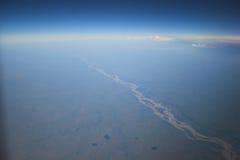 воздушное фото предпосылок Стоковая Фотография RF