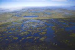 воздушное фото предпосылок Стоковые Изображения RF