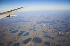 воздушное фото предпосылок Стоковое Изображение