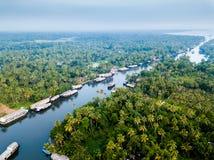 Воздушное фото Alappuzha Индии Стоковые Фото