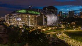 Воздушное фото MITEC, Малайзия стоковые изображения rf