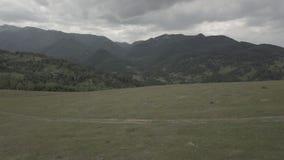 Воздушные красивые горы 1 видеоматериал