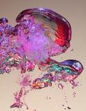 воздушные пузыри стоковое изображение rf