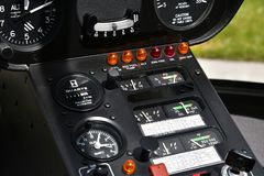 Воздушные судн, вертолет, панель Стоковое фото RF