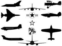 воздушные судн воинский s Стоковые Изображения