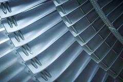 Воздушные судн реактивного двигателя лезвий турбины Стоковое Изображение RF