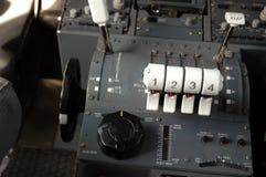 воздушные судн cockpit5 Стоковое Изображение