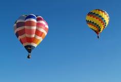 воздушные шары горячие 2 стоковое фото rf