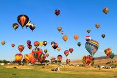 воздушные шары горячие Стоковая Фотография