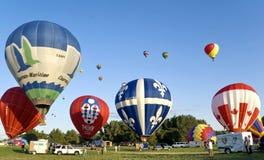 воздушные шары горячие Стоковые Фотографии RF