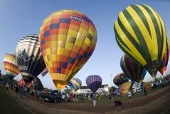 воздушные шары запускают готовое Стоковое фото RF