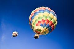 Воздушные шары летания Стоковые Изображения