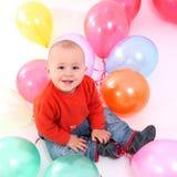 воздушные шары младенца Стоковая Фотография RF