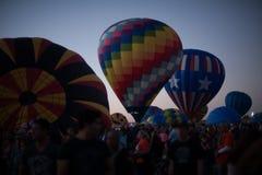 Воздушные шары на фестивале воздушного шара Стоковое фото RF