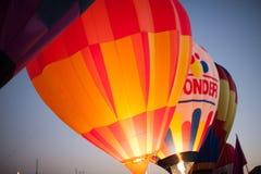 Воздушные шары на фестивале воздушного шара Стоковая Фотография