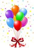 Воздушные шары партии Стоковые Изображения