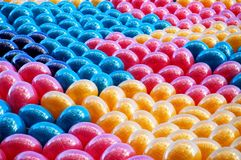 воздушные шары предпосылки Стоковая Фотография RF