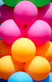 воздушные шары цветастые Стоковая Фотография