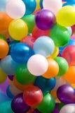 воздушные шары цветастые Стоковые Фотографии RF