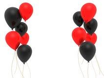 воздушные шары 3d иллюстрация штока