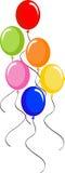 воздушные шары Стоковое Изображение